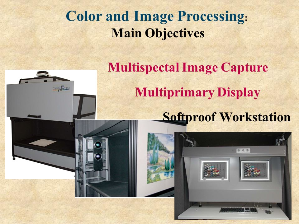 Color and Image Processing: