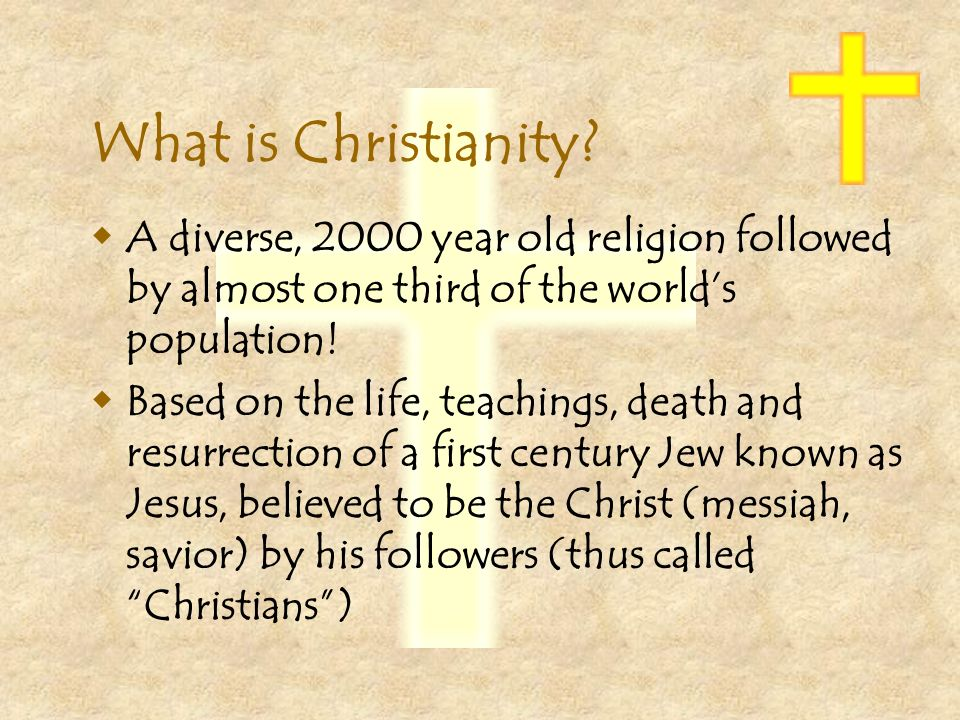 What Is Christianity A Diverse Year Old Religion Followed - World population based on religion