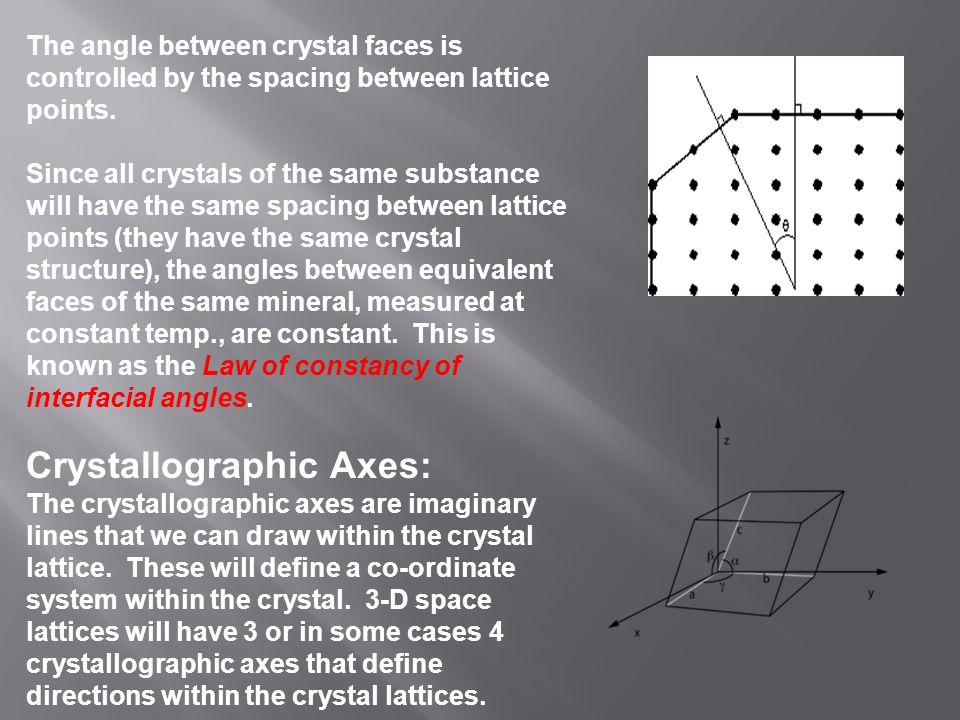 relationship between crystallography and mineralogy definition