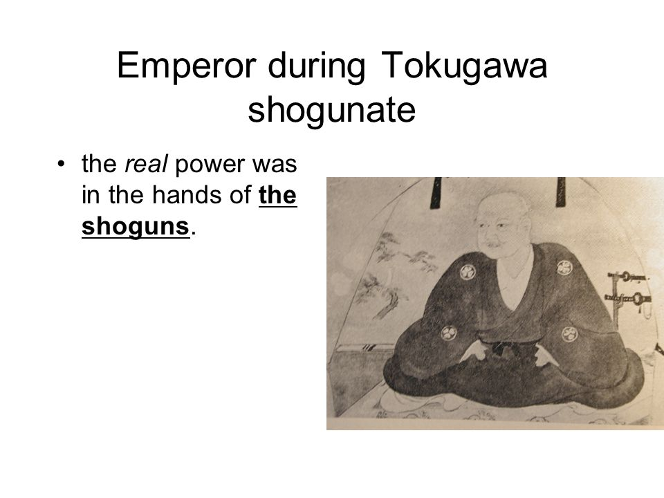 an analysis of emperors in the tokugawa Organ theory emerged as counter to the theory of the emperor as  in kenpō  teiyō (the summary of the meiji constitution) published between.