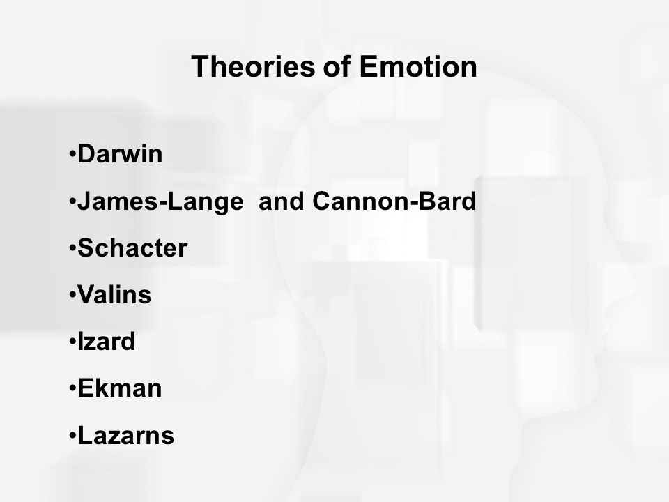 darwin theory of emotions Contrary to what many psychological scientists think, people do not all have the same set of biologically basic emotions, and those emotions are not automatically expressed on the faces of those around us, according to.