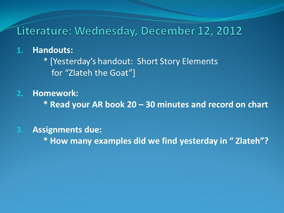 assignments due You can add a due date for the assignment that will be visible to students if a student submits an assignment after the due date.