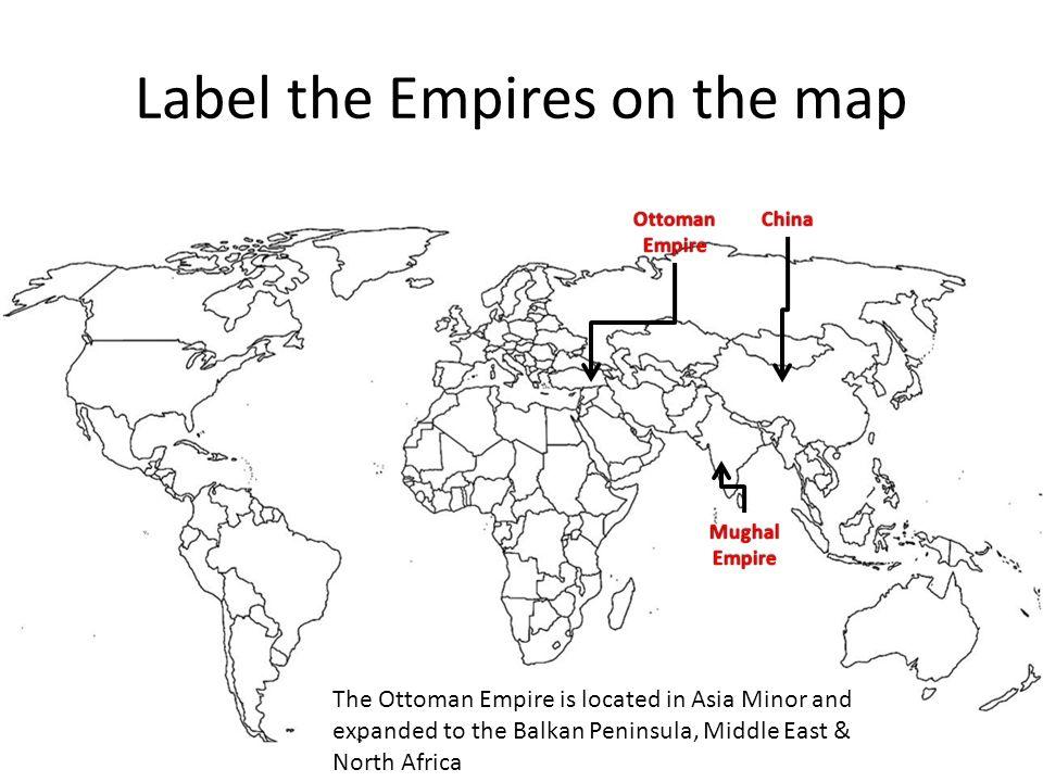 Mughal Empire World Map 67601 Usbdata