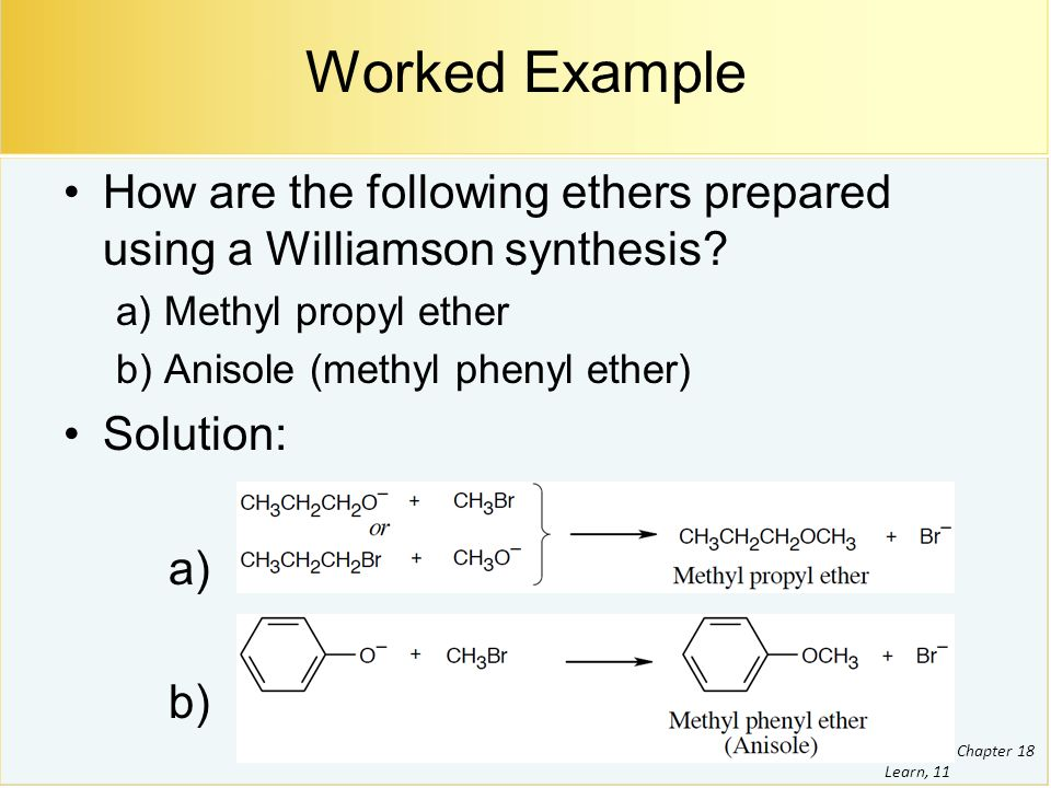 Ethers And Epoxides Thiols And Sulfides Ppt Video