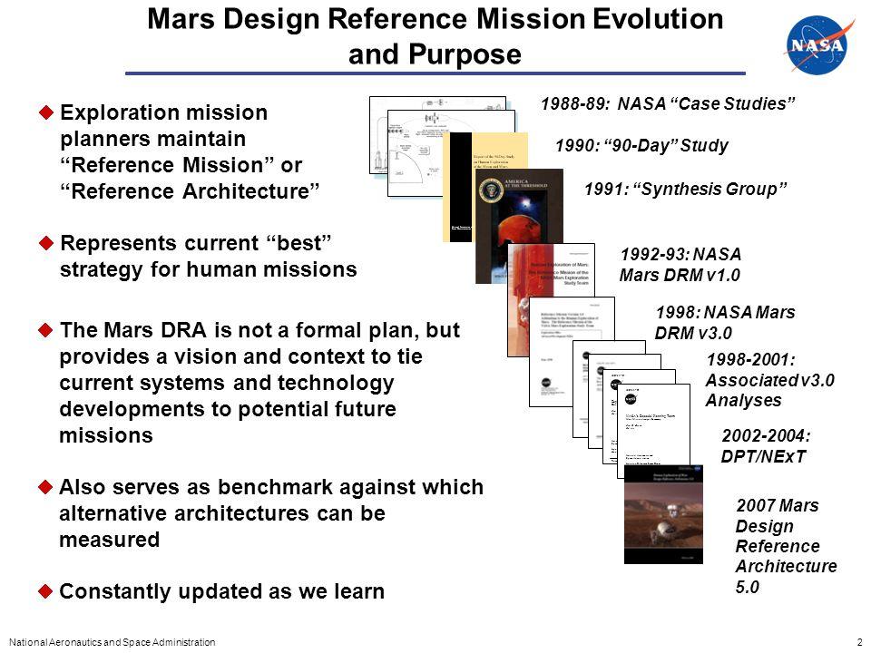 design reference mission nasa - photo #14