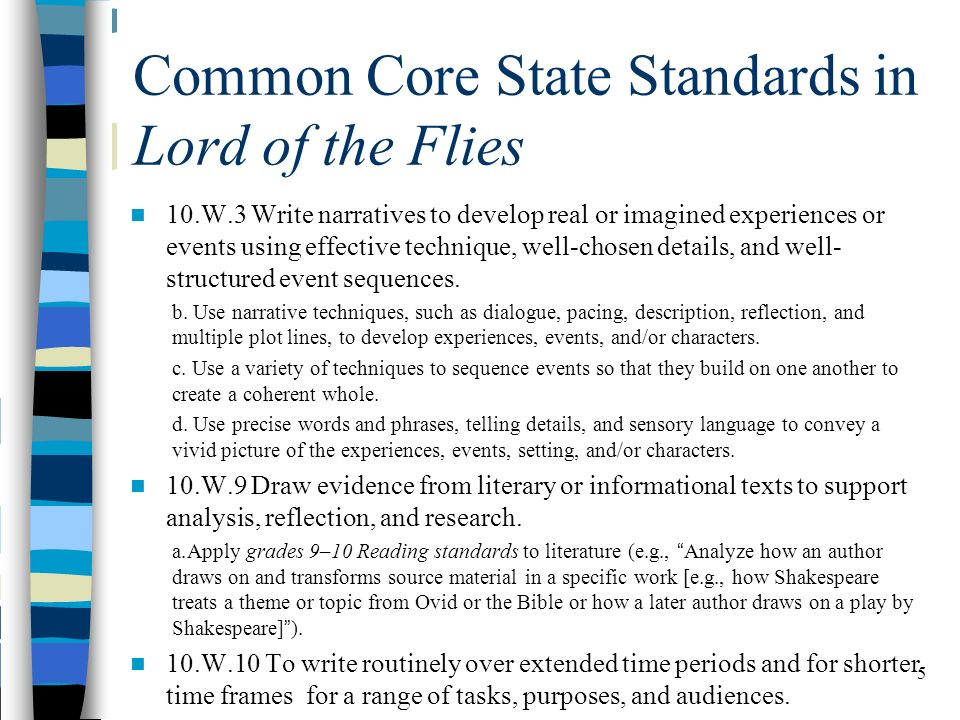 a description of the common core state standard The common core state standards (ccss) for english language arts and mathematics the ccss for english language arts & literacy in history/social studies, science, and technical subjects represent a broader view of readiness (ccr) standards were written first and describe expectations for end of high school.