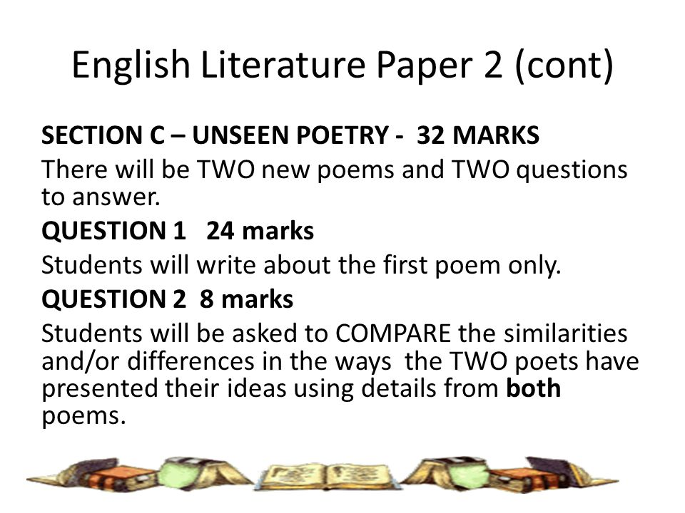 AQA GCSE English Literature Paper 2 Section A: Modern ...