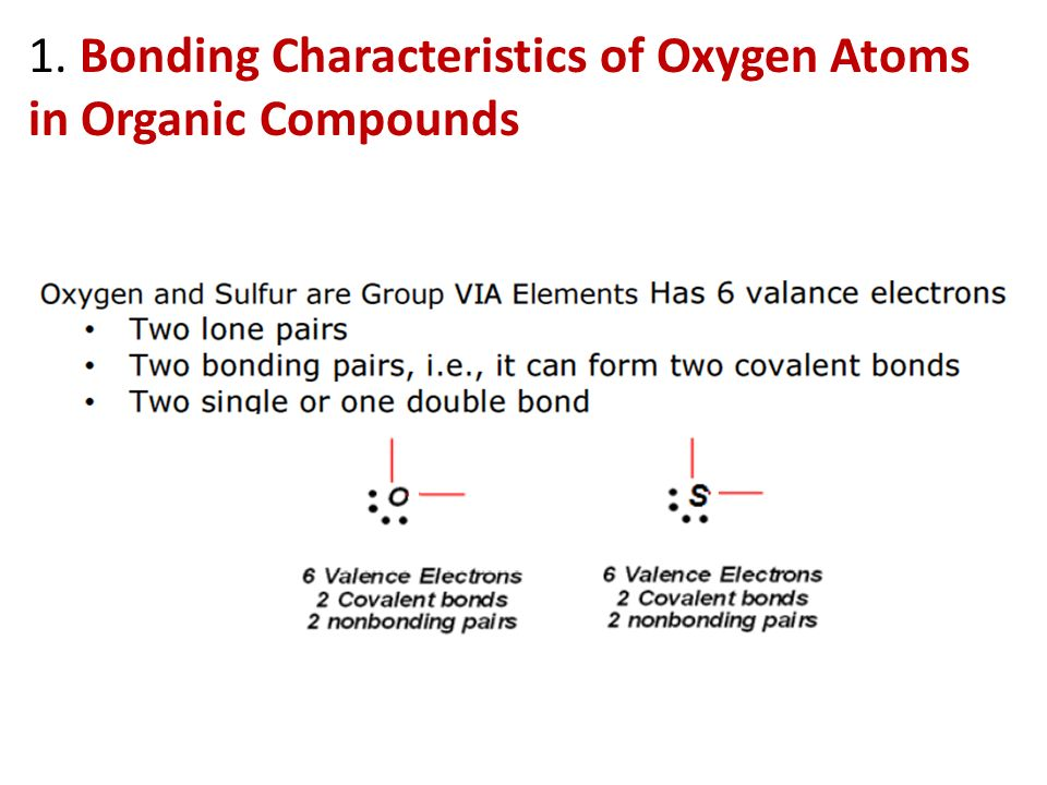 characteristic of organic compounds essay