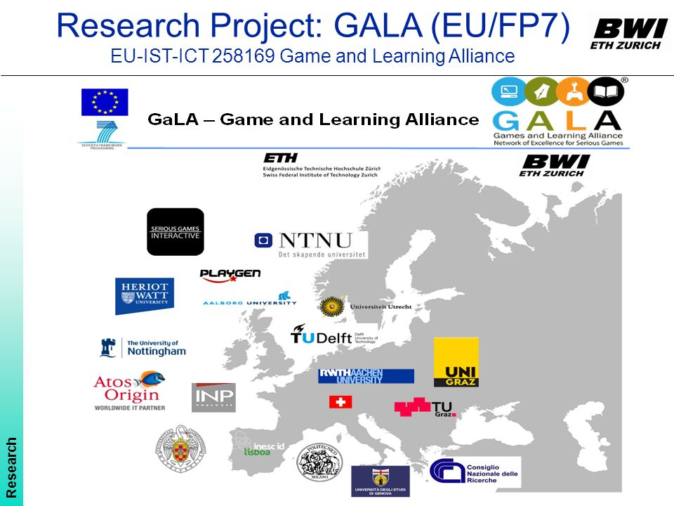 Research Project: GALA (EU/FP7)