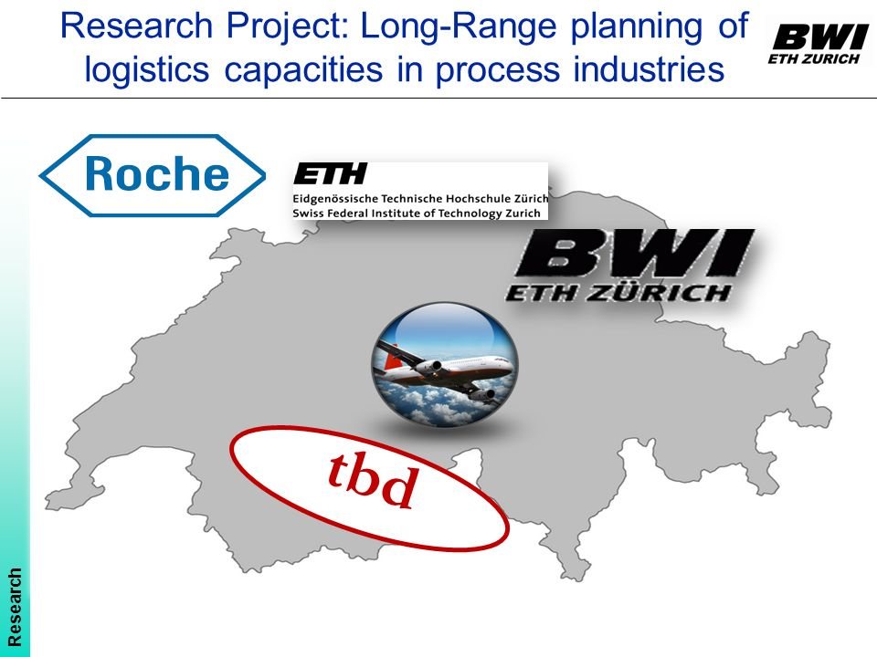 Research Project: Long-Range planning of logistics capacities in process industries