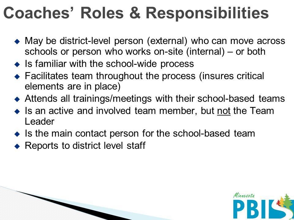 leadership roles and responsibilities It's important to clearly understand your board's role in terms of community  leadership below you will find a summary of your role as a school board as well  as.