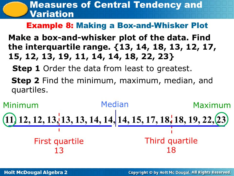 What are the effects of outliers on statistical data ppt video example 8 making a box and whisker plot ccuart Images