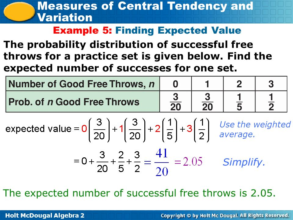 how to find expected value from pdf