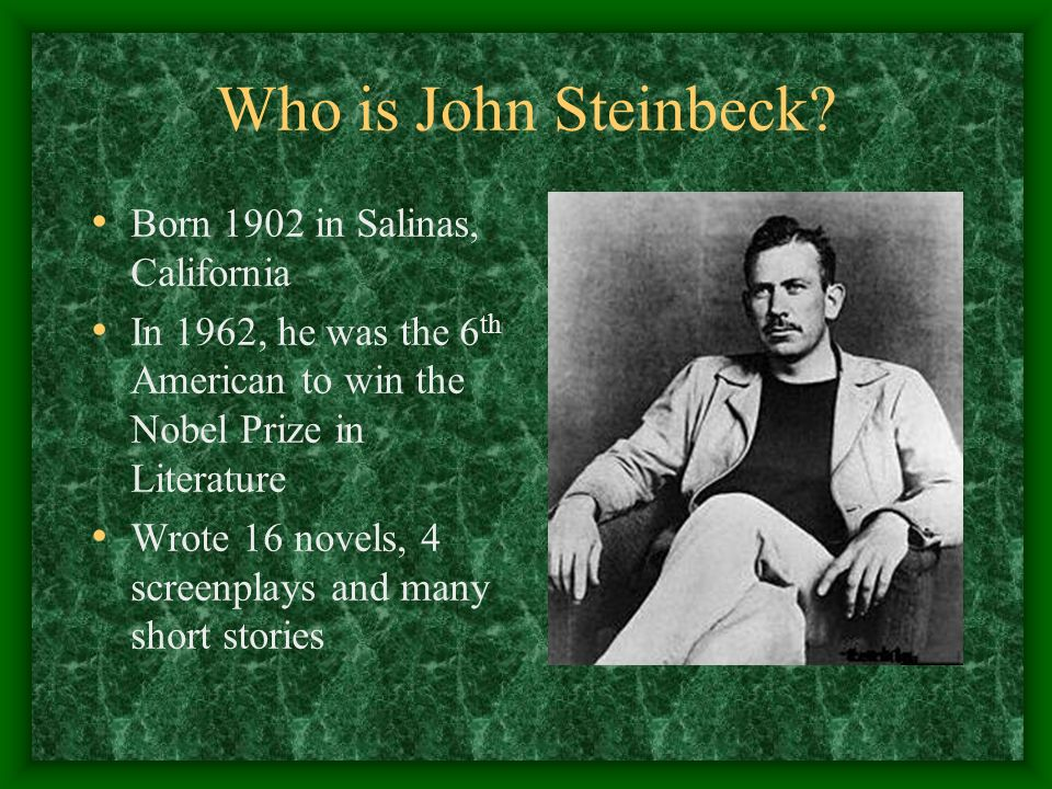 john steinbeck brief stories