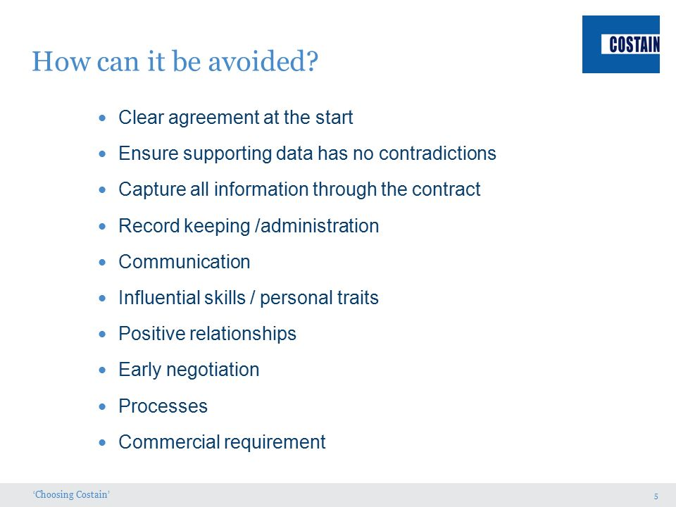 Contents What is a dispute? Causes and avoidance - ppt video ...