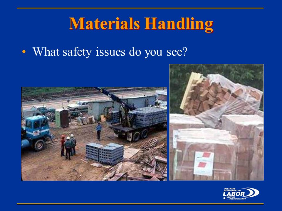 materials handling notes Material handling equipment is equipment that relate to the movement, storage, control and protection of materials, goods and products throughout the process of manufacturing, distribution, consumption and disposal.