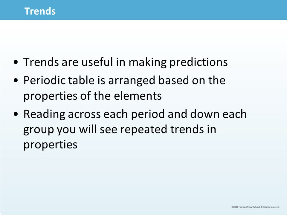 Module 303 periodic trends ppt download periodic table 4 trends urtaz Image collections
