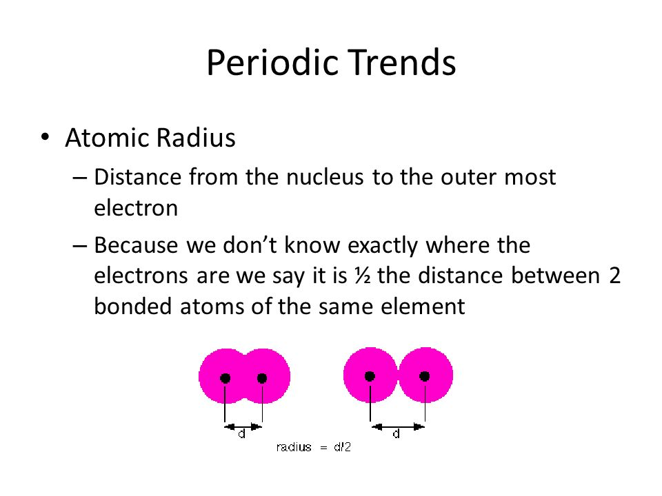 Periodic trends periodic table is arranged by atomic number groups 5 periodic trends atomic radius urtaz Image collections