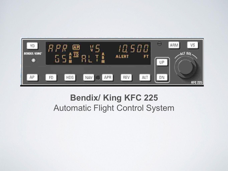 automatic flight control system ppt video online download rh slideplayer com Bendix King Radio bendix king kfc 225 manual