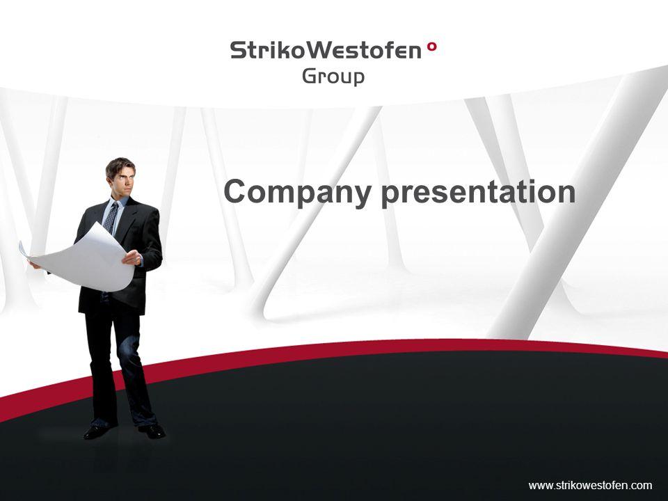 Company presentation www.strikowestofen.com