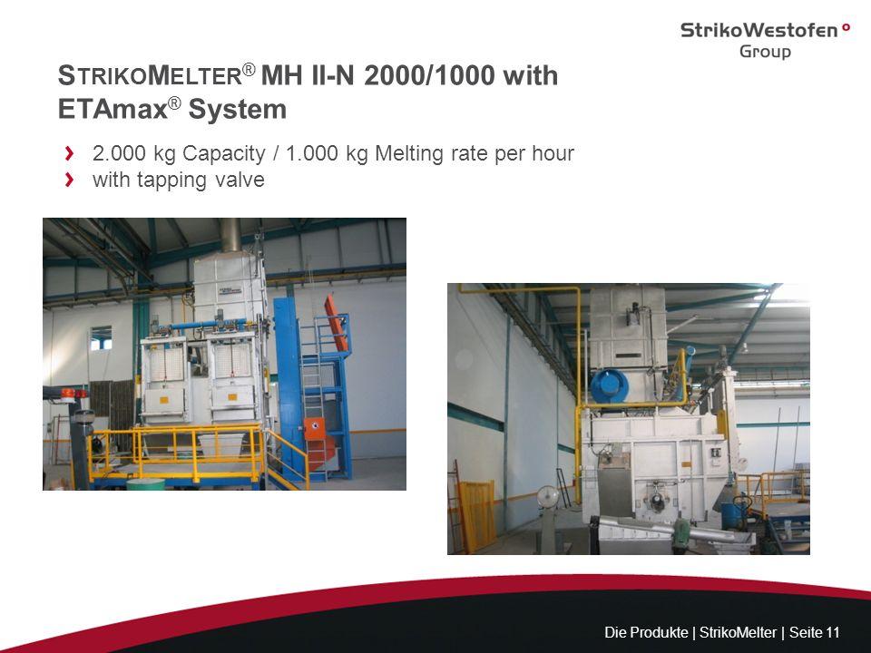 StrikoMelter® MH II-N 2000/1000 with ETAmax® System
