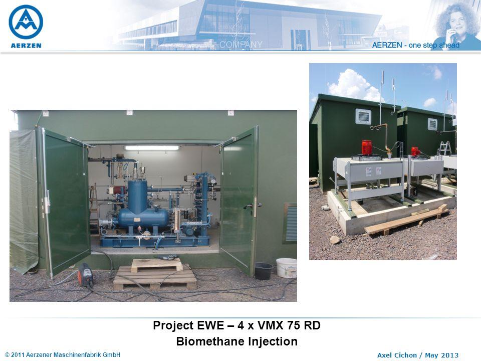 Project EWE – 4 x VMX 75 RD Biomethane Injection