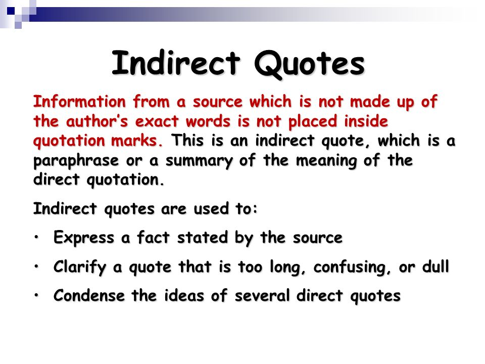 Using Quotations. - Ppt Download