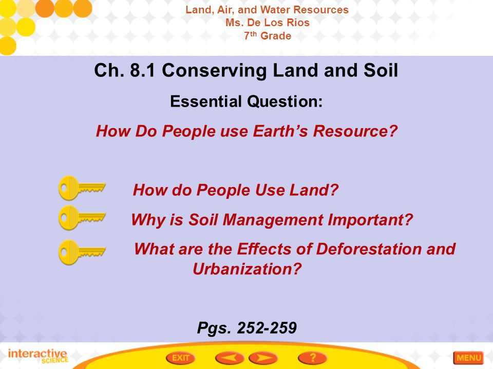Ch 8 1 conserving land and soil ppt video online download for Land and soil resources definition