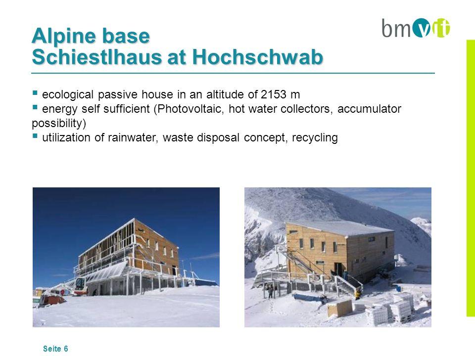 Alpine base Schiestlhaus at Hochschwab