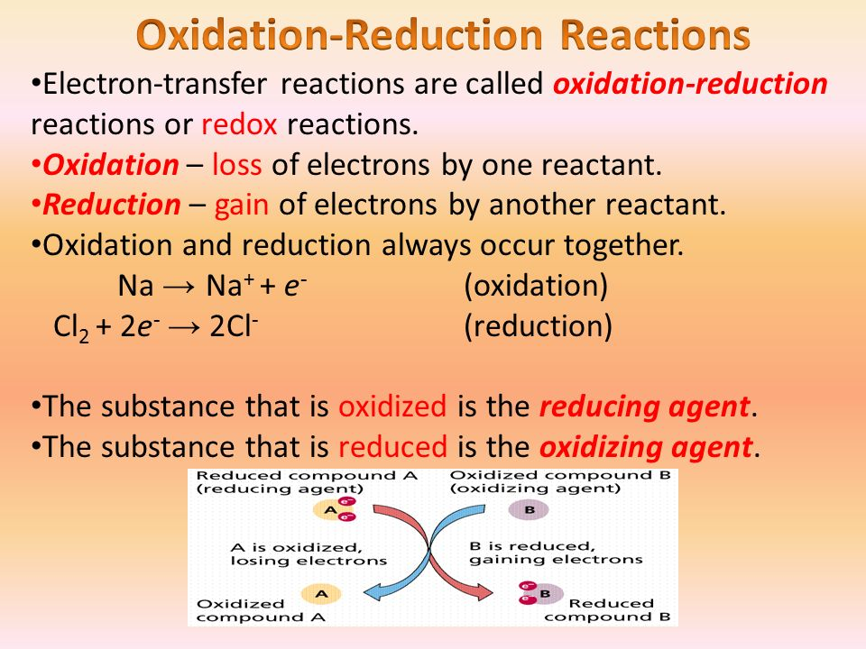 discussion oxidation reduction reaction Free practice questions for ap chemistry - principles of oxidation-reduction reactions includes full solutions and score reporting.