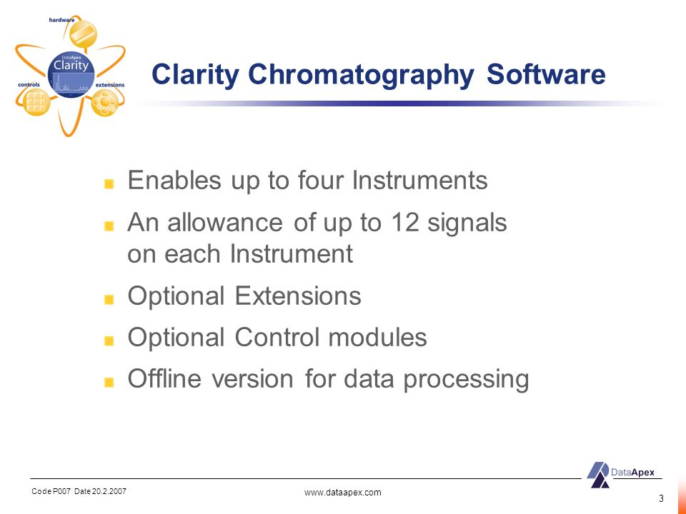 Clarity Chromatography Software