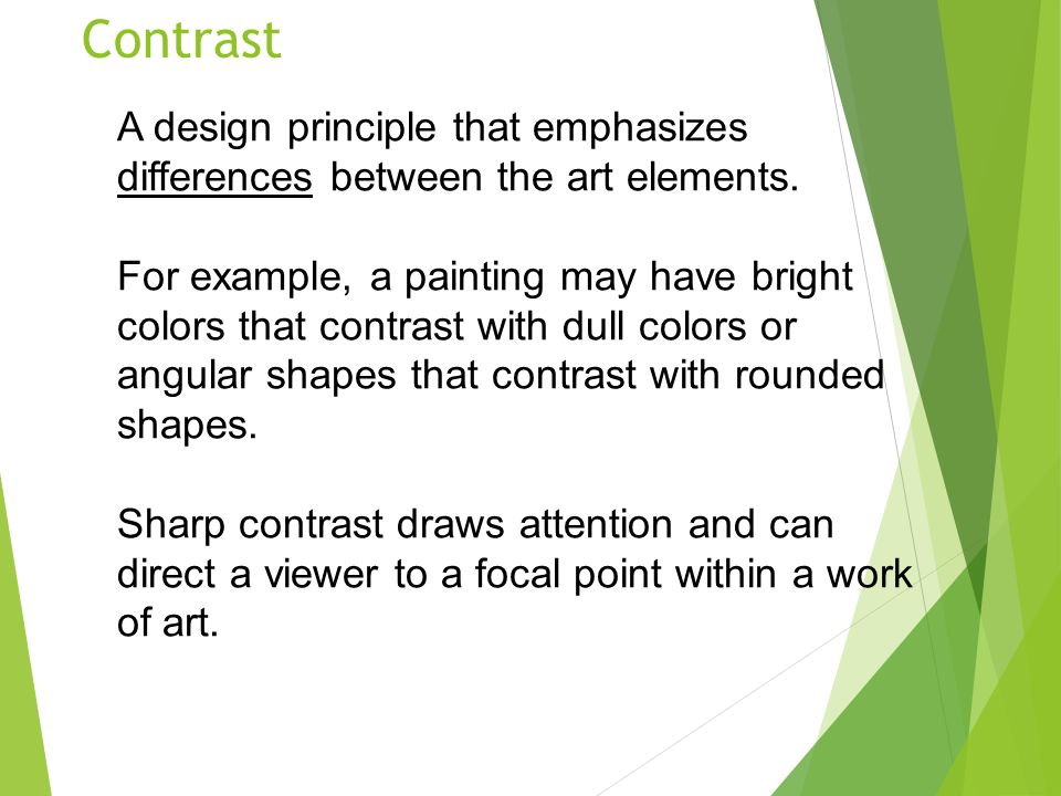 The Principles Of Design Ppt Video Online Download