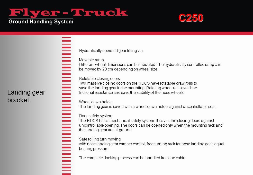 C250 Landing gear bracket: