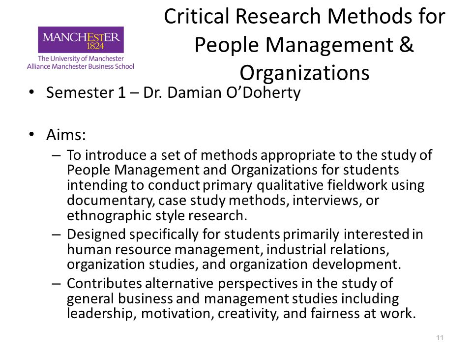 organization of the study in a research paper