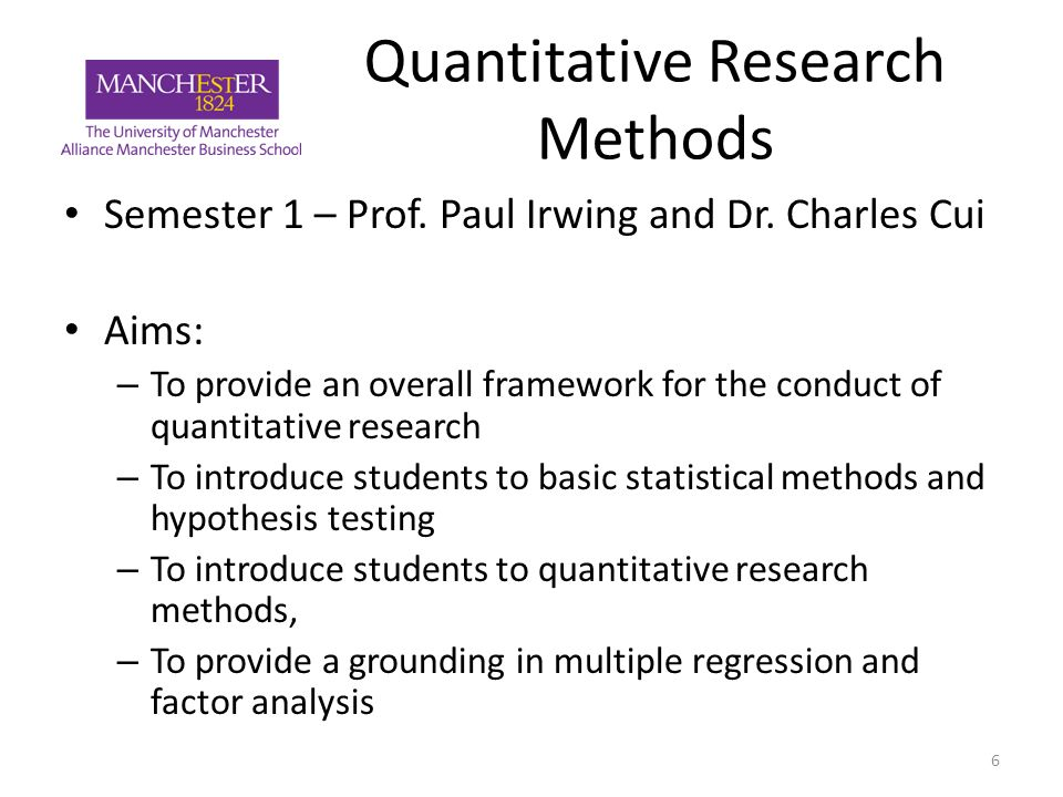 business research methodology quantitative statistics This new series is aimed at meeting the needs of graduate students, researchers  and practitioners who have a basic grounding in statistical analysis and who.