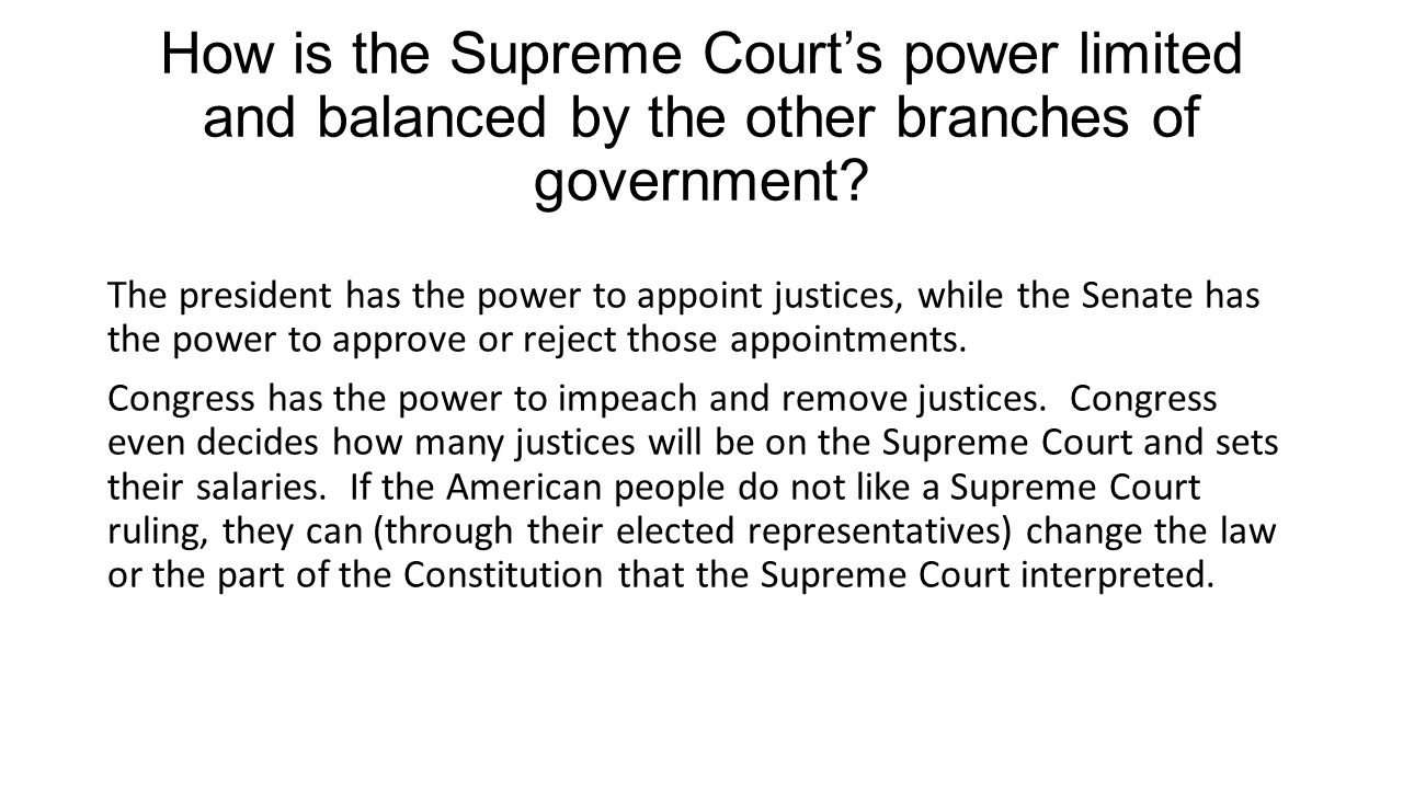 why is the power of judicial review key to the system of