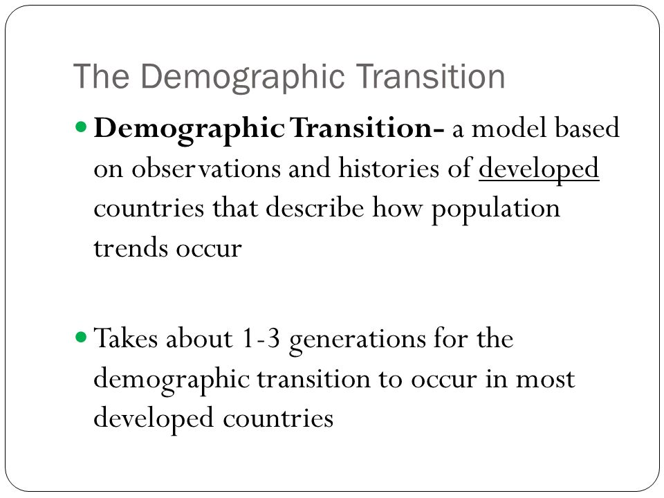 The Demographic Decay of the Modern Europe