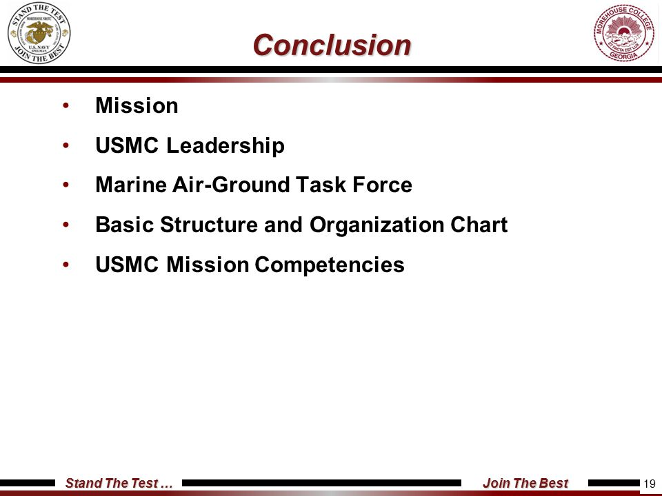 Usmc Structure And Organization  Ppt Video Online Download