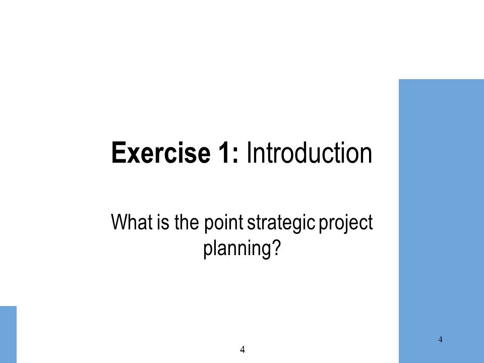 Exercise 1: Introduction