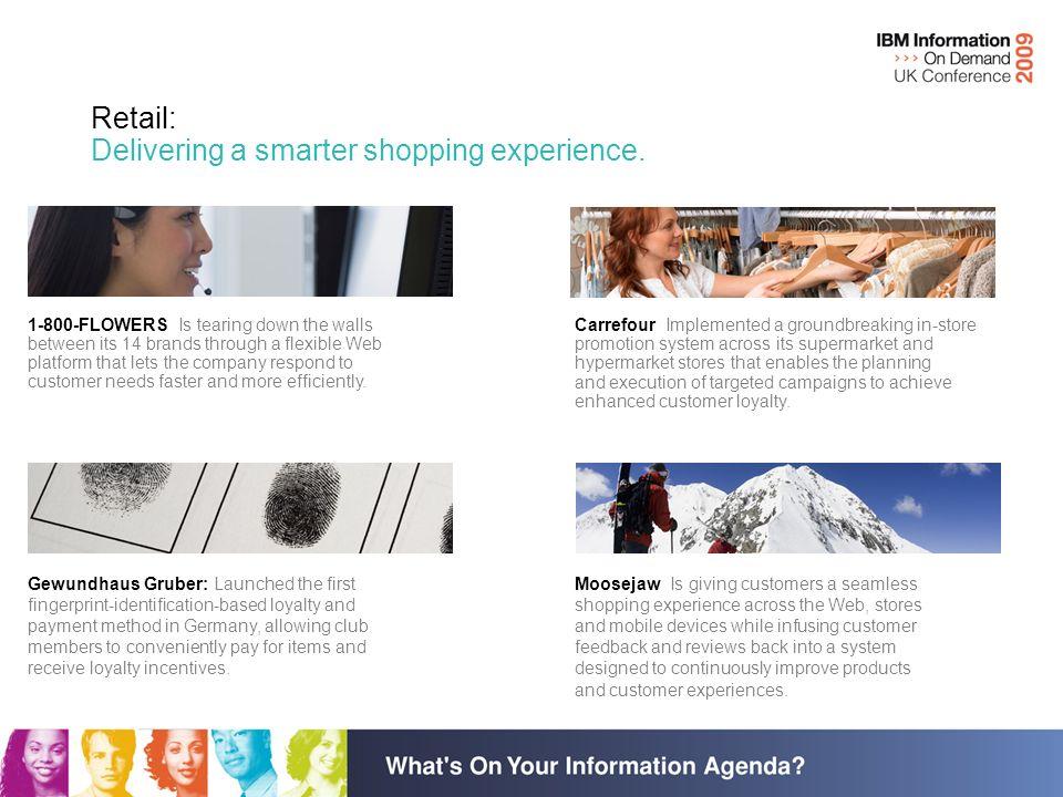 Building a Smarter Planet: Retail