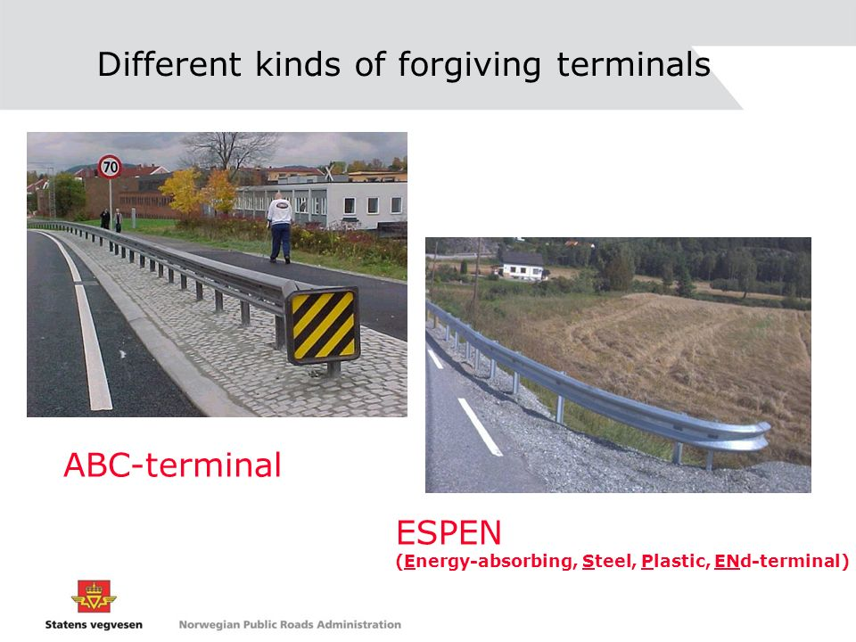 Different kinds of forgiving terminals