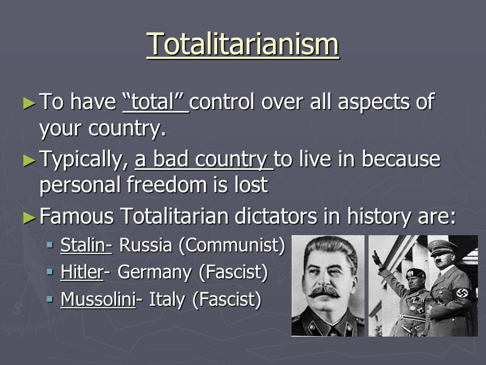 how totalitarian were fascist italy and Evidence cards a the ond provided were expected to join the fascist party to what extent did fascist italy become a totalitarian state.