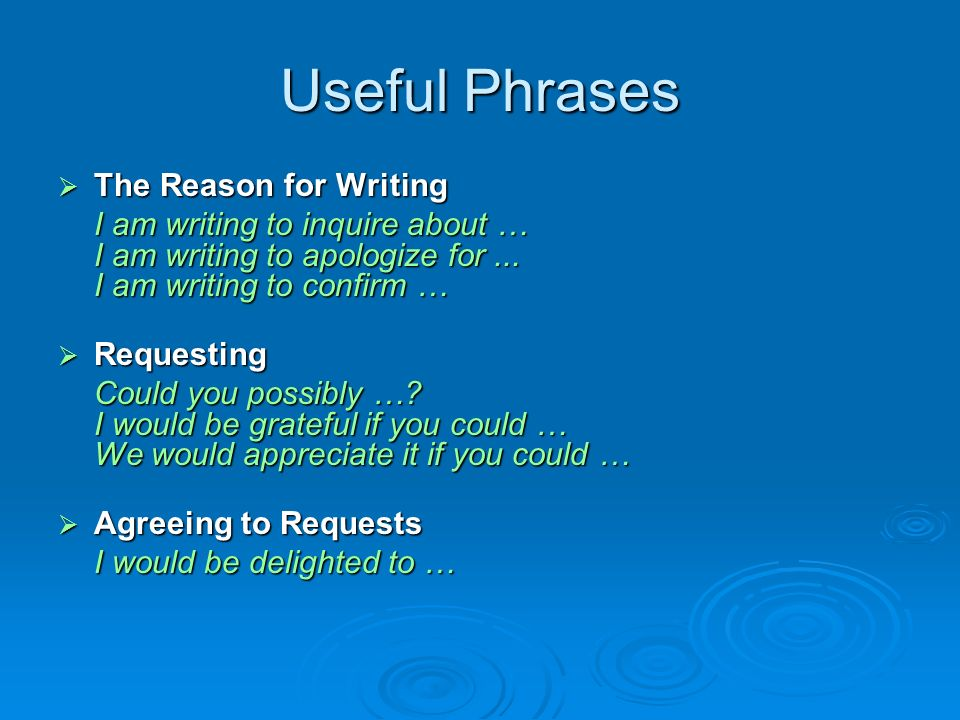 useful phrases for english essays Candidates are expected to be able to write non-specialised text types such as an article, an essay, a letter, an email, a report or a review.