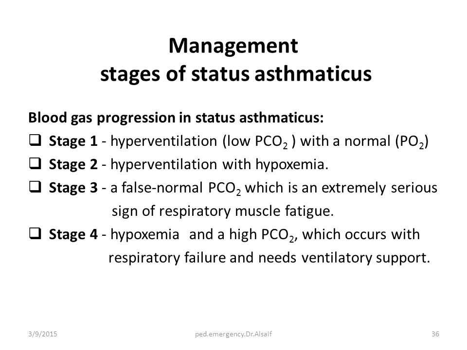 research papers on assessment and treatment of status asthmaticus Treatment of status asthmaticus with of life-threatening status asthmaticus without the platform @deepdyve that makes journal papers.