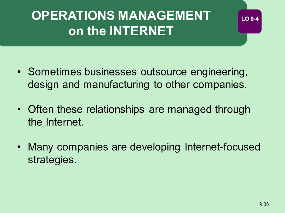 operations management 6 essay We will write a custom essay sample on operations management or any similar topic specifically for you do not operations director also involve in set up the.