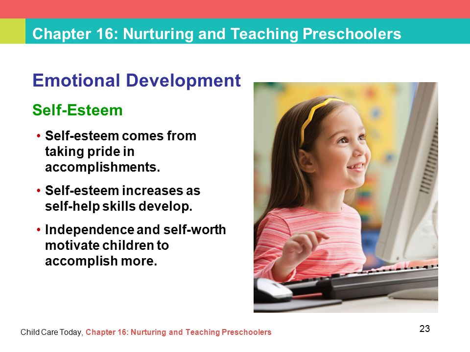 Chapter 16 Nurturing And Teaching Preschoolers