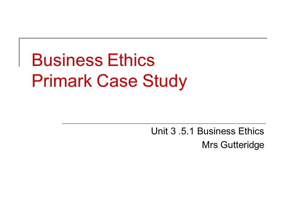 ethics in business case study The case centre sells case studies but they are also committed to providing free case studies to promote the case study method as an educational tool after registering for a free account on the site, you can browse their large selection of free case study samples from business schools and organizations around the globe.