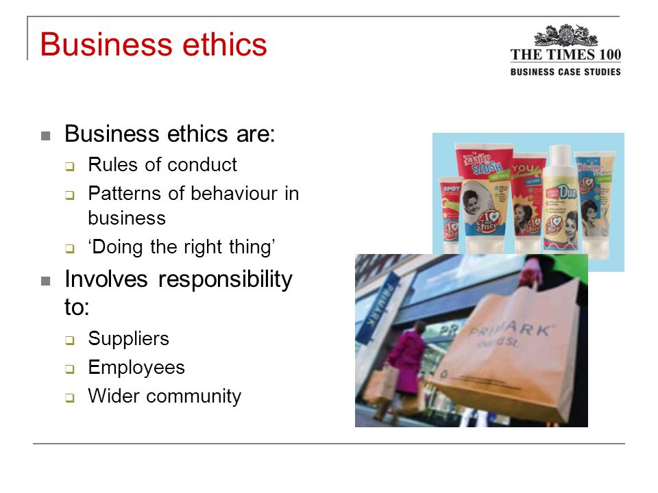 corporate social responsibility primark Primark's bid to improve management of its ethical auditing data  in primark's bid for world class,  corporate social responsibility,.