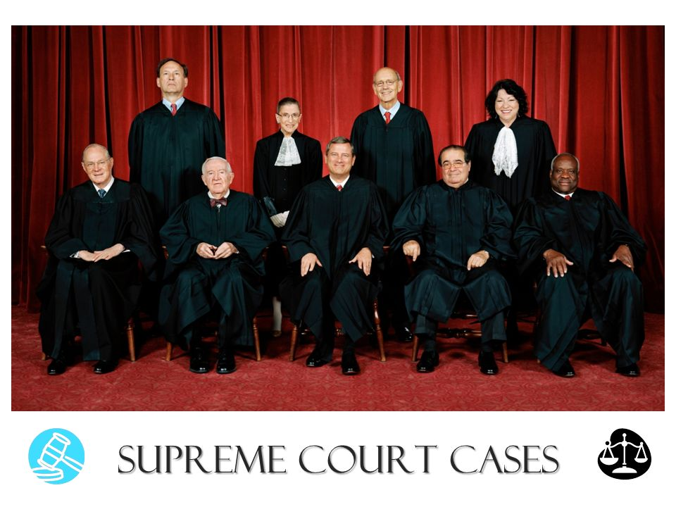 Supreme court case studies