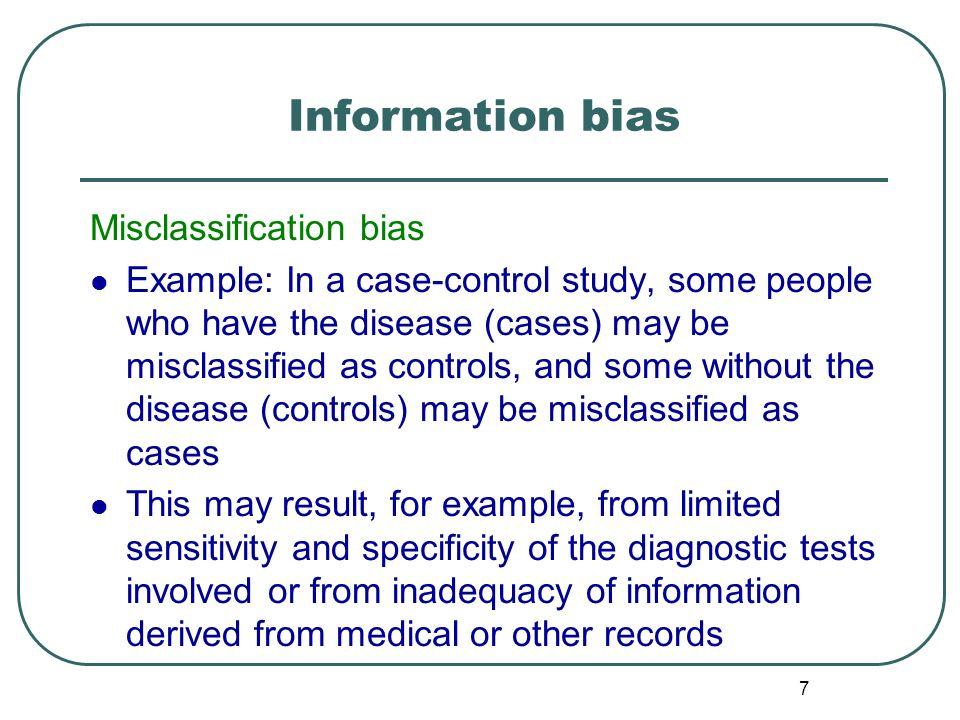 Omega case study bias